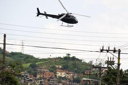 1,5 millón de cariocas habita en las favelas de Río de Janeiro.
