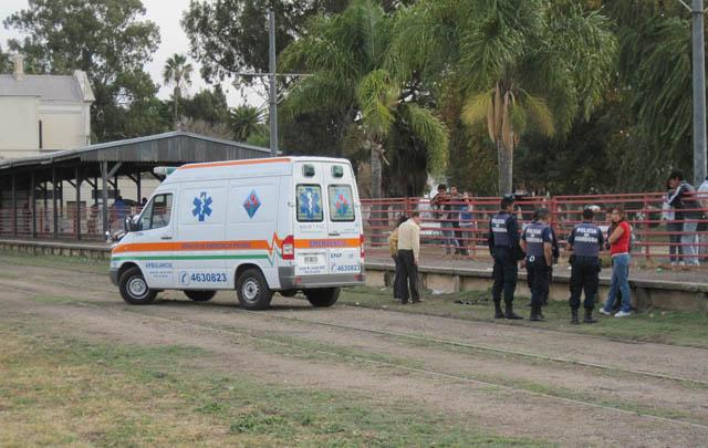 Está muy grave un joven de 17 años que cayó de un tren en Río Cuarto