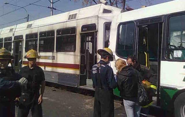 Железнодорожная авария в Буэнос-Айрес