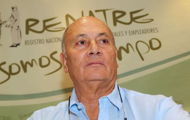 Gerónimo ''Momo'' Venegas, presidente de Renatre.