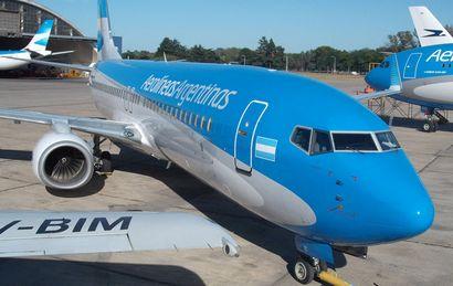 Según el informe,  en 2019 Aerolíneas podría dejar de perder dinero (Foto: Archivo)