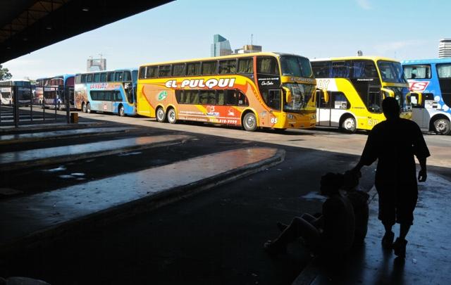 Será normal el transporte de larga distancia durante el fin de semana.