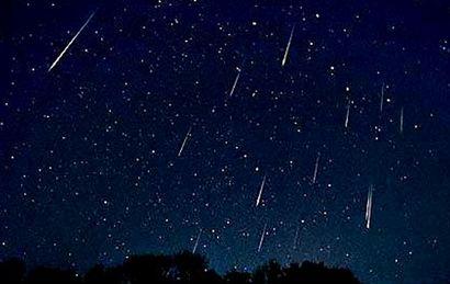 Esta noche se podrá apreciar una lluvia de estrellas.