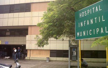 El bebé fue trasladado hacia el Hospital Infantil de Córdoba.