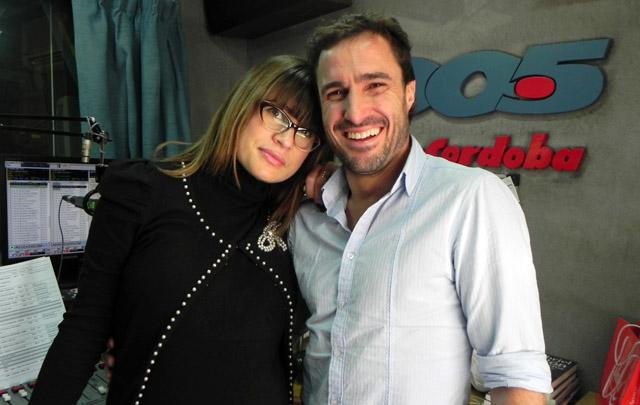 Martín Buzzo visitó los estudios de 100.5