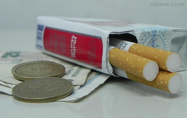 Los cigarrillos podrían sufrir un aumento (Foto ilustrativa)