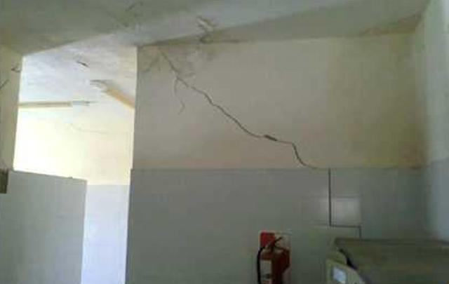 AUDIO: Problemas edilicios en Ipem 112 de Sebastián Elcano  (Informe de Fernando Genesir)