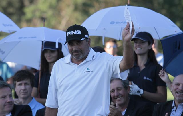 El golfista negó el hecho que se le imputa.