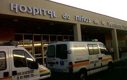 La beba fue finalmente internada en el Hospital de Niños de Córdoba.