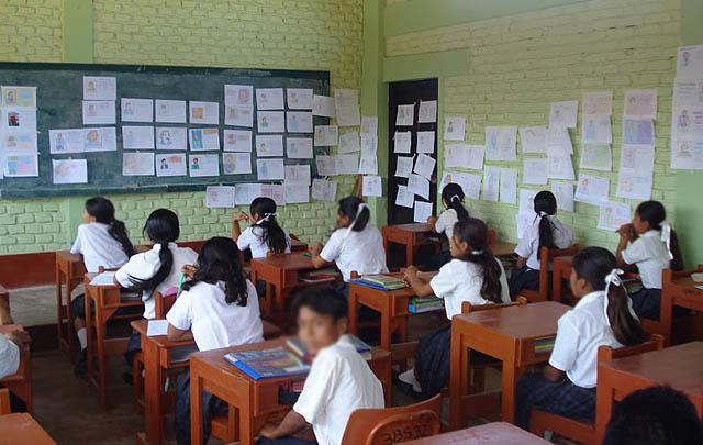 Las escuelas italianas tienen maestros integradores (Foto ilustrativa)