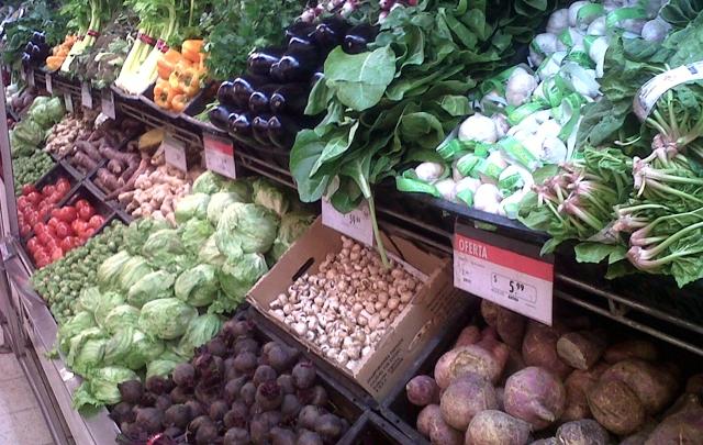 Las verduras de hoja son las más afectadas del cinturón verde.