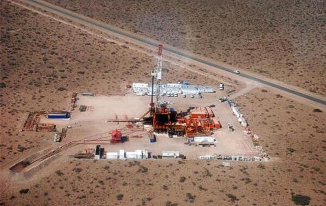 Yacimiento petrolífero Vaca Muerta.