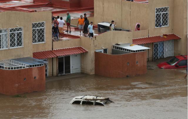 AUDIO: Al menos 100 ríos están desbordados por las lluvias (Informe de Bárbara Anderson)