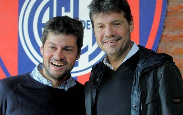 Matías Lammens y Marcelo Tinelli buscan la reelección.