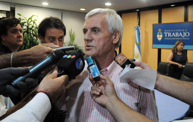 El secretario general de la UOM, Antonio Caló, confirmó las medidas de fuerza.