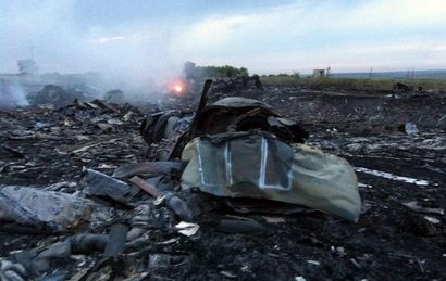 Investigadores confirman que el vuelo fue derribado.