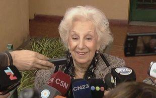 Estela de Carlotto dará detalles de la nieta restituida (Foto: Archivo).