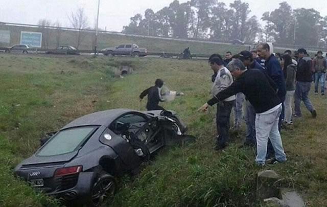 Paladini murió en un accidente de tránsito el 13 de septiembre de 2014.