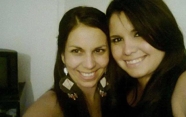 Paola Acosta (izquierda) fue asesinada en septiembre de 2014.
