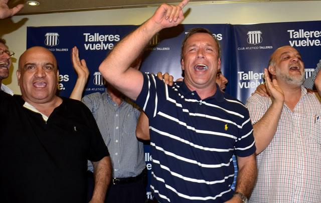Fassi es presidente de Talleres.