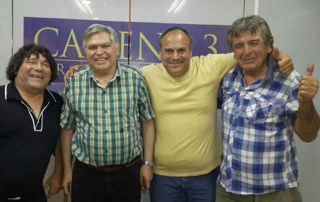 Víctor Quinteros, Rony Vargas, El Coto y Cianferoni.