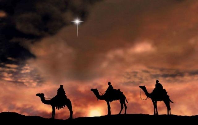 Expectativa por la llegada de los Reyes Magos.