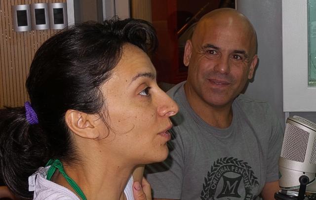 FOTO: El ''Bicho'' Gómez y Anita Martínez en Juntos.