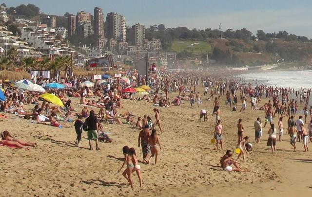 Gran afluencia de argentinos en Chile (Foto: Archivo)