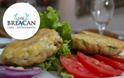 The Breacan: Fishcakes de trucha