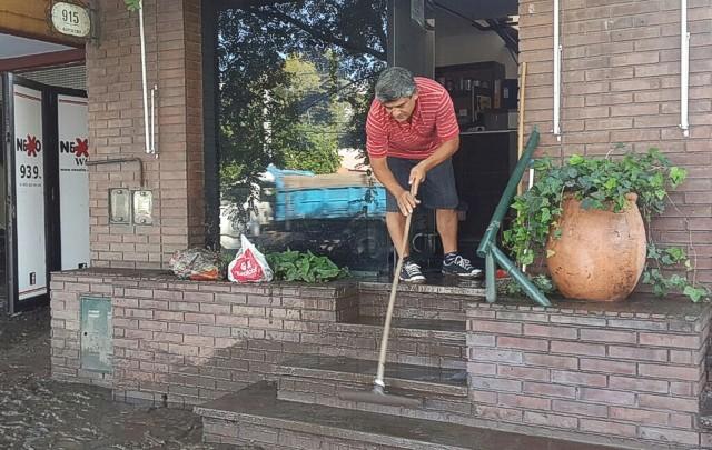 Las inundaciones de febrero, causa de la postergación de las elecciones.