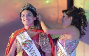 Rocío Mariel Tonini es la reina de la Vendimia 2015.