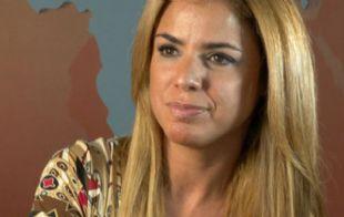 Marina Calabró no sufrió heridas tras el accidente.