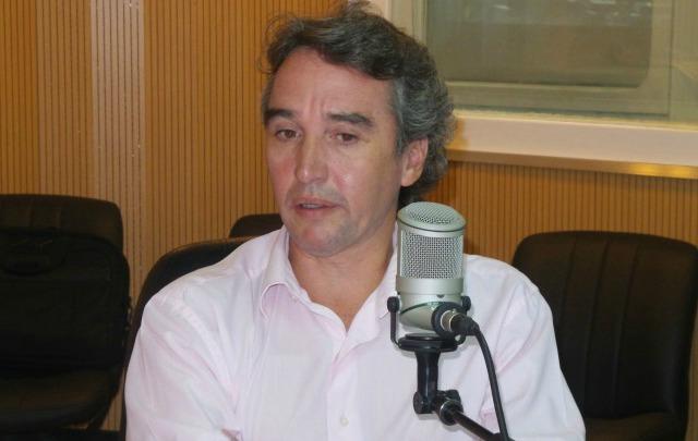 El actual intendente, Héctor Colombo, irá por la reelección (Foto: Archivo)