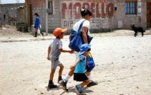 Albino marcó que además de buena nutrición, los niños necesitan amor (Foto: Archivo).
