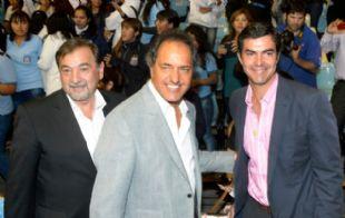 Scioli señaló que le ofrecerá un cargo a Juan Manuel Urtubey.