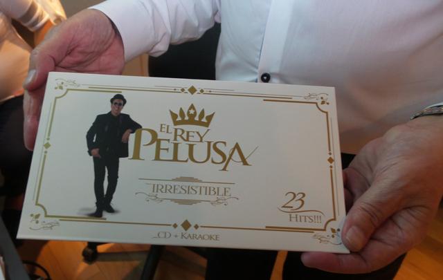 El Rey Pelusa se consagró el más vendido en Disquerías Edén.