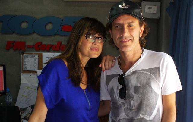 Coti visitó ''Anímate'', con Gaby Tessio.