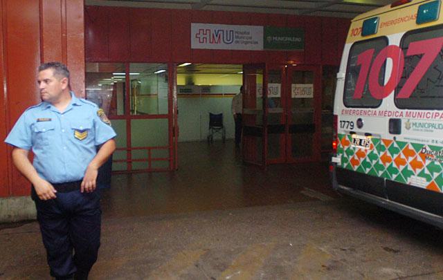 El hombre fue trasladado al Hospital de Urgencias (Foto: Archivo)