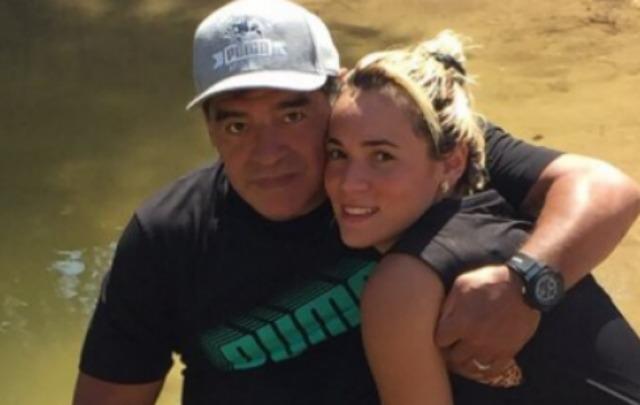 Maradona echó por tierra los rumores sobre ruptura con Rocío Oliva.