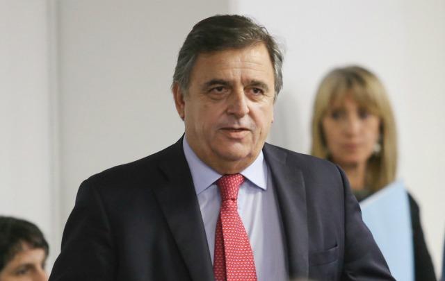 Mario Negri, presidente del bloque de Diputados de la UCR.