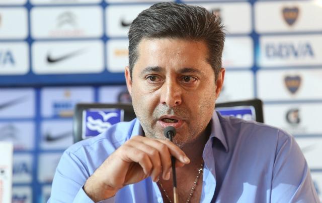 Angelici se disculpó con el ''Cata'' Díaz tras la difusión del video (Foto: Archivo)
