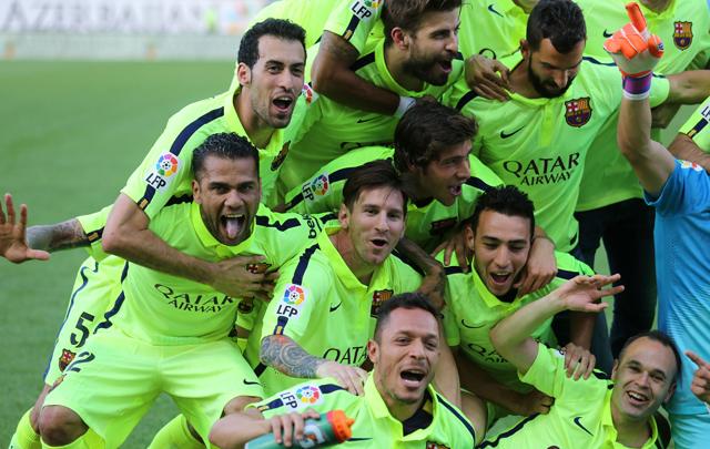 AUDIO: Gol de Barcelona (Messi)