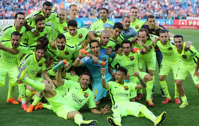 FOTO: Lionel Messi, el protagonista de la Liga.