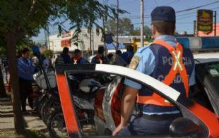 Amplio despliegue en un operativo policial (Foto: Archivo)