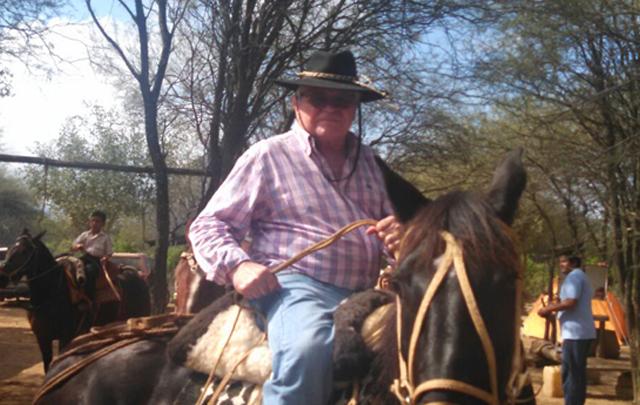 Rony Vargas en la Fiesta de la Cultura Nativa