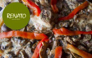 Renato: Pizza de champiñones