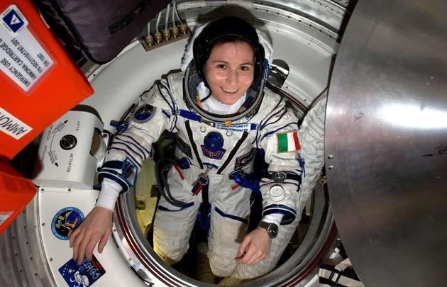 Samantha Cristoforetti, la astronauta italiana.
