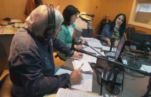 Cynthia Zack visitó a Rony durante ''Viva la Radio''.