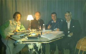 El equipo de Cadena 3 en el Festival Nacional de Tango.