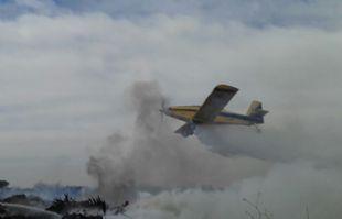 Un incendio de proporción se registra en La Calera (Foto: archivo).